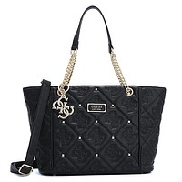 GUESS Women Fashion Leather Crossbody Tote Handbag Satchel