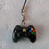 XBOX 360 Controller Cell Phone Charm :D