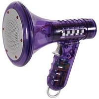 Multi Voice Changer by Toysmith: Change your voice with 8 different voice modifiers - Kids Toy (Purple)