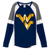 West Virginia University Bling Varsity Crew - PINK - Victoria's Secret
