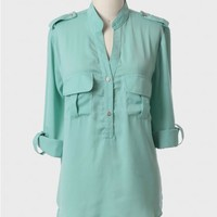 Mount Tyree Pocket Blouse