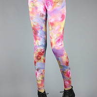 Forever Strung Blasted Bouquet Leggings : Karmaloop.com - Global Concrete Culture