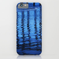 Blue Waves iPhone & iPod Case by Shawn King