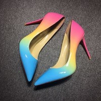 Christian Louboutin Cl Pumps High Heels Reference #02bk54 - Best Deal Online