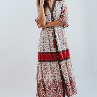 June Bug Dress In Red