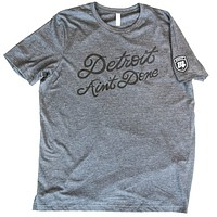 Detroit Ain't Done Tee - Gray