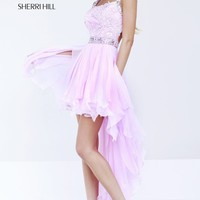 Square Neck Gown by Sherri Hill
