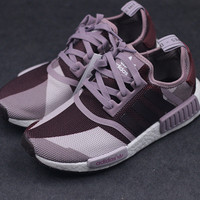 """Adidas"" NMD Women Fashion Trending Sneakers Geometric Running Sports Shoes"