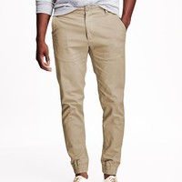 Old Navy Twill Built In Flex Joggers