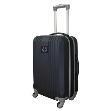 Indianapolis Colts Luggage Carry-on 21in Hardcase two-tone Spinner 100% ABS-GRAY