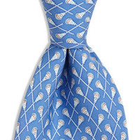 Men's Ties: Lacrosse Printed Silk Tie for Men – Vineyard Vines