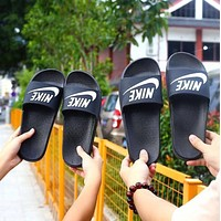 Nike Fashion Slippers Men's and Women's Trendy Sandals