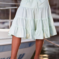 Sirena Skirts for Women, Drawstrig Waist, Swimsuit Cover-up, Cotton - Island Importer