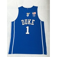Duke University 1 Williamson Basketball Jersey