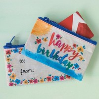Happy Birthday Gift Card Pouch