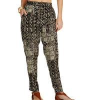 Sale-the Up All Night Black Harem Pants
