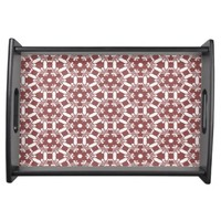 Wine Pattern Serving Tray