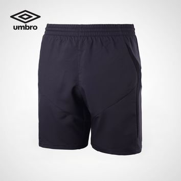 Umbro Men's Sports Shorts Soccer Series  Training Pants Men Gym  Competition Football Shorts  Quick Dry Pants  Ubs7722p