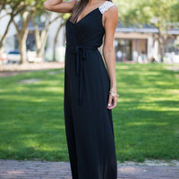 The Timeless Maxi Dress, Black