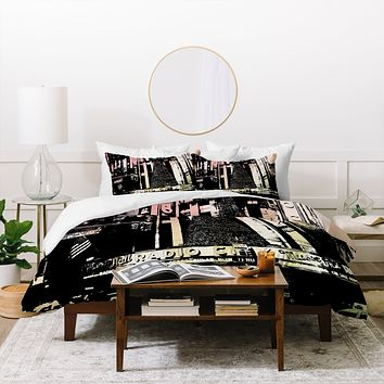 Amy Smith Radio City Music Hall Duvet Cover