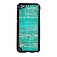 Teal Wood iPod Touch 5th Generation Case