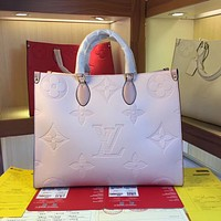 LV Louis Vuitton M:44558  Women's Tote Bag Handbag Shopping Leather Tote Crossbody Satchel41*19*34CM