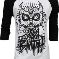 OWL Bring Me The Horizon BMTH Oliver Sykes Long Sleeve T Shirt Sz S,M,L