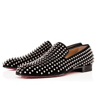 CL Christian Louboutin Men's shoes popular Boots popularable casual leather shoes