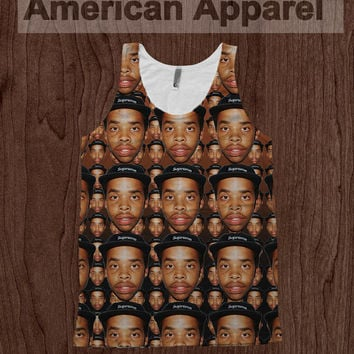 Earl Sweatshirt American Apparel Tank Top OFWGKTA Dye Sublimation
