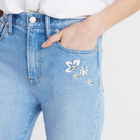 The Perfect Summer Jean: Embroidered Edition