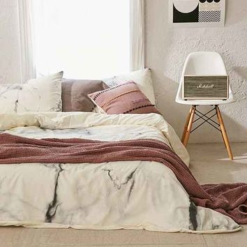 Chelsea Victoria For DENY Marble Duvet Cover