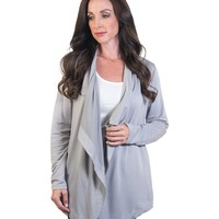 Fleece Jacket Cardigan - Gray (Special Offer)