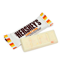 Hershey's Candy Corn Bits Snack Size Chocolate Bars: 20-Piece Bag