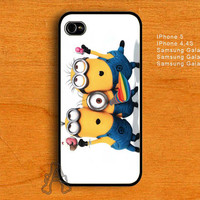 Despicable Me Minion-IPhone 4 / IPhone 4S / IPhone 5 Case-Samsung Galaxy S2 / S3 / S4 Case-AA26072013-10