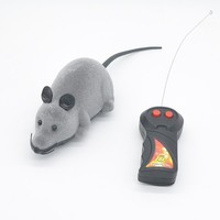 Remote Control RC Rat Mouse Wireless For Cat Dog Pet Toy Novelty Gift B001