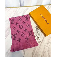 LV Popular Women Embroider Silk Knit Tassel Scarf Shawl Accessories I-XLL-WJ