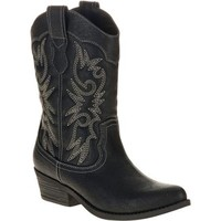 Faded Glory Women's Fashion Cowboy Boot -Exclusive Color - Walmart.com