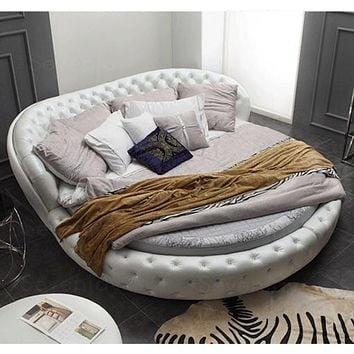 Leather Bed  For Bedroom Furniture