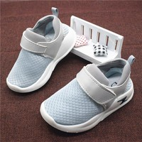 Boys Shoes Casual Children Shoes Autumn Breathable Mesh Fashion Lightning Kids Sneakers For Boys Girls Shoes Size 21-30