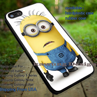 Minion Alone Despicable Me iPhone 6s 6 6s+ 5c 5s Cases Samsung Galaxy s5 s6 Edge+ NOTE 5 4 3 #cartoon #animated #DespicableMe dt