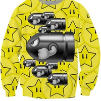 Stars and Bullets Crewneck Sweatshirt