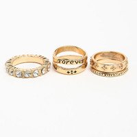 Assorted Rings Set