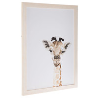 Watercolor Giraffe Wood Wall Decor | Hobby Lobby | 1657030