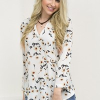 Dainty Floral Top