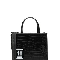 Black Stampa Cocco Bag by OFF-WHITE