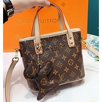 LV Louis Vuitton New fashion monogram leather dog accessories handbag shoulder bag crossbody bag