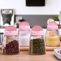 Japanese-Style Kitchen Supplies Seasoning Box Seasoning Pot Set Barbecue Seasoning Bottle Oil Salt Tank Storage Box Combination