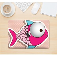 "The Colorful Vector Big-Eyed Fish Skin Kit for the 12"" Apple MacBook (A1534)"