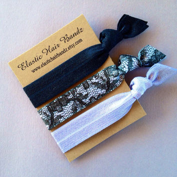 The KatyLynn Hair Tie-Ponytail Holder Collection by Elastic Hair Bandz on Etsy