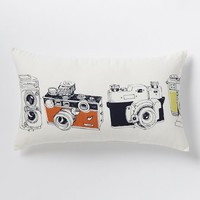 Camera Collection Pillow